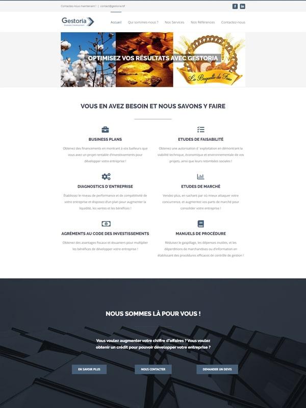 Site web de Gestoria