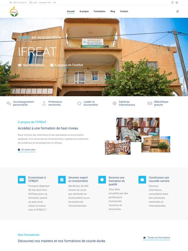 Site web de l'IFREAT
