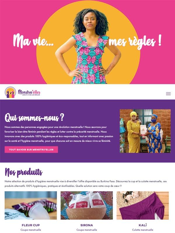 Site web de Menstru'elles